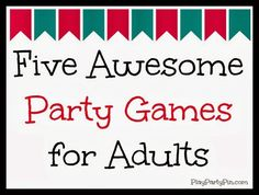Play. Party. Pin.: New Year's Eve Games & Party Ideas