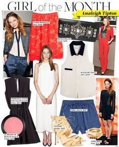Girl of the Month: Analeigh Tipton - Celebrity Style and Fashion from WhoWhatWear