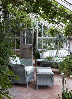 Come arredare la veranda in stile provenzale - Arredare una veranda in campagna
