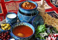 Persian Abgoosht (Lamb Chickpea Soup)