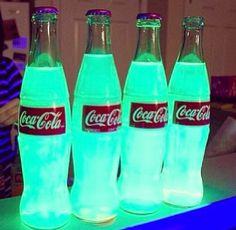 glow in the coke