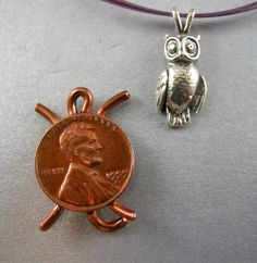 OWL, STERLING, PENDANT, 1 1/16 in. height and 7/16 wide,Handmade, Sterling Silver Cast Lost wax,Weight 2.26 dwt, or 3.515 grams, High Polish by McWilliamsBopArt on Etsy