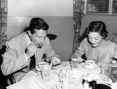 Gene Tierney and Oleg Cassini