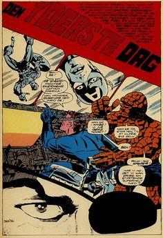 See Set description for more info. Comic Book Artists, Comic Books Art, Comic Art, Vintage Comic Books, Vintage Comics, Jim Steranko, Sci Fi Comics, Strange Tales, Steve Ditko