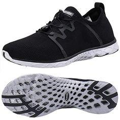 ALEADER Women s Adventure Aqua Water Shoes Black Gray 10 D(M) US 720000b1d9