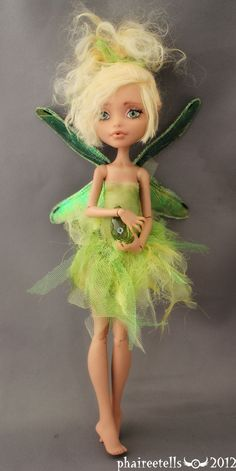 MH monster high HOWLEEN fairy repaint PERI by ~phairee004 on deviantART