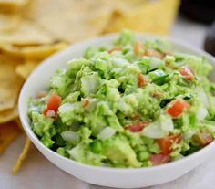 Homemade Guacamole - Clean & Delicious with Dani Spies How To Make Guacamole, Homemade Guacamole, Guacamole Recipe, Clean And Delicious, How To Make Homemade, Stuffed Green Peppers, Vegetable Dishes, Healthy Recipes, Cinco De Mayo