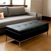 Found it at Wayfair - Henry Leather Ottoman