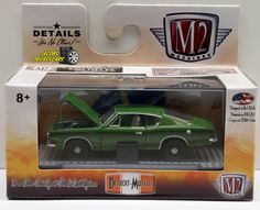 1:64 M2 MACHINES DETROIT-MUSCLE RELEASE 35 - 1969 PLYMOUTH BARRACUDA 340 #M2Machines #Plymouth