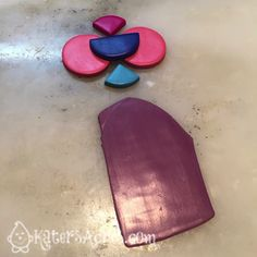 BERRY BLAST Polymer Clay Color Recipe by KatersAcres