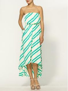 <3 Collective Concepts Stripe Maxi Dress | Piperlime