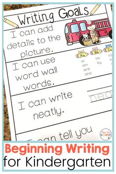 Help scaffold beginning writing skills with these structured practice sheets. Students will get the skills they need to become independent and confident writers. Writing Goals, Writing Skills, Phonics Games, Take The First Step, Letter Sounds, Confidence Building, In Kindergarten, 5 Ways, Confident