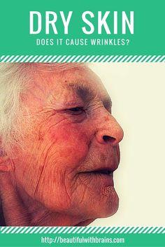 Does Dry Skin Cause Wrinkles?