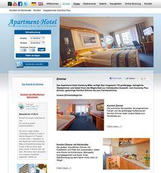 Mais um projecto desenvolvido pela Navega Bem Web Design - http://www.apartment-hotel.de/