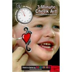 Three Minute Cheek Art - Mandella: Face Paint Supplies: Lowest Priced Name Brand Face Paints