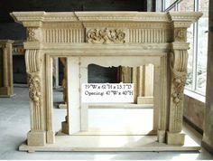 Celeste Column Fireplace Sale marble http://www.shopstonefireplaces.com/celeste-column-fireplace-sale.html