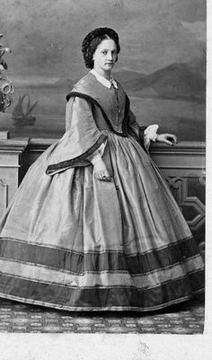 1860s civil war era fashion
