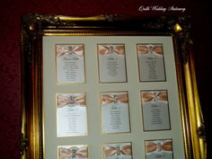 Luxury Diamante Buckle Table Plan. Various Colour options by QuillsWeddingFavours on Etsy www.quillsweddingstationery.co.uk https://www.facebook.com/pages/Quills-Wedding-Stationery/278003989009997