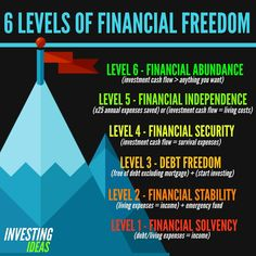 What level of Financial Freedom are you On! INVESTING is the Key Log on our site for tips on How to organize your Business affairs Financial Tips, Financial Literacy, Financial Planning, Freedom Financial, Financial Quotes, Investing Money, Real Estate Investing, Saving Money, Millionaire Lifestyle