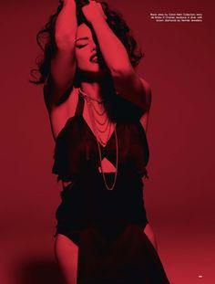 Adriana Lima stars in LOVE Magazine's spring issue