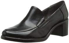 Aerosoles Women's Heartthrob Flat, Black Leather
