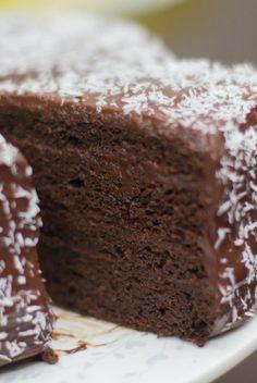 Zucchini Chocolate Cake & Birthday Dinner