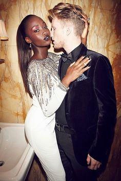 Sexy interracial couple #love #wmbw #bwwm