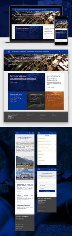 Design und Umsetzung des responsive Website Relaunches von TAG. Web Design, Website Designs, Filters, Request For Proposal, Round Round, Design Web, Design Websites, Website Layout