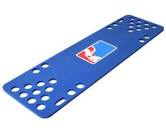 Major League Blue Foam Floating Table. These are the only floating beer pong tables that are 100% guaranteed to never deflate or spring a leak. We offer FREE SHIPPING!! #fun #pool #poolparty #friends #beerpongtable