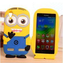 Minions Soft Silicone Phone Case For Lenovo K3 note K50 K30 A6000 A7000 S90 P70 Vibe X X2 S960 A8 A808 A390 A850 A880 Back Cover