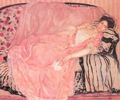 Frederick Carl Frieseke, Ritratto di madame Gely, 1907