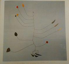 160. Alexander Calder, Mobile 1939 circa lamina, filo di ferro, vernice Waterbury, Mattatuck M