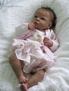 Chloe with full torso by Linda Murray - Online Store - City of Reborn Angels Supplier of Reborn Doll Kits and Supplies