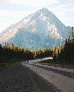 Looking for a place to camp, somewhere up the Spray Lakes Road in the Kananaskis Mountains