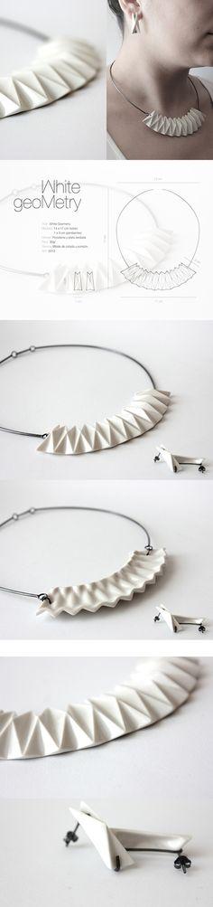 Product photo | White Geometry