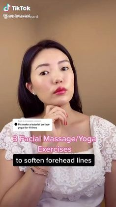 Fitness Workouts, Yoga Facial, Face Yoga Exercises, Healthy Skin Tips, Beauty Tips For Glowing Skin, Skin Care Routine Steps, Face Massage, Face Contouring, Massage Techniques