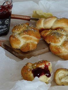 Kouzlo mého domova: Domácí housky Pretzel Bites, French Toast, Bread, Baking, Breakfast, Food, Morning Coffee, Brot, Bakken