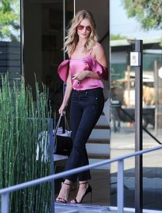 looks da rosie huntington-whiteley, look do dia, inspiração, moda, estilo, ootd, inspiration, fashion, style