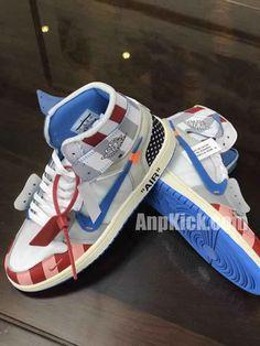 check out 4d508 33ca8 parra off white air jordan 1 customize shoes custom made jordans (7) -  AnpKick