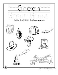 Worksheets Preschool Worksheets For The Color Red colors activities and learning on pinterest worksheets for preschoolers color green worksheet classroom jr