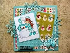 Winter Christmas, Christmas Cards, Holiday, Snowball, Cheer, Daisy, Challenges, Sketches, Blog