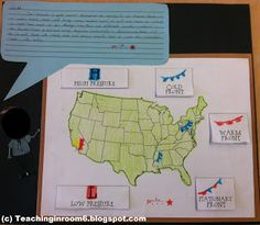 Teaching in Room Weatherman, Weatherman.lets talk about Weather Science Resources, Science Lessons, Science Education, Teaching Science, Science Activities, Science Experiments, Science Ideas, Physical Science, Teaching Ideas