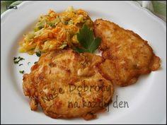 Meat Recipes, Chicken Recipes, Cooking Recipes, Healthy Recipes, Czech Recipes, Russian Recipes, Ethnic Recipes, Slovakian Food, Good Food
