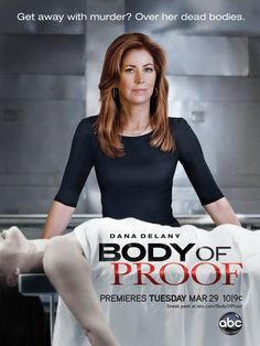 """""""Body of Proof"""".  Quand vous avez fini d'écouter """"Bones"""" et qu'il vous en faut plus, vous pouvez switcher à cette émission un peu plus moche mais semblable sur bien des points."""