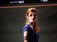 First look of Clary Fray for season 2 of #Shadowhunters #ClaryFray