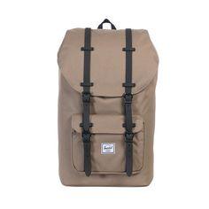 Herschel Little America Backpack<p>Lead Green/Black Rubber