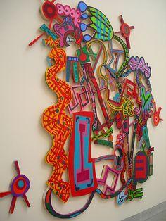 Elizabeth Murray by pedraz_2, via Flickr  Biennale di Venezia 2007