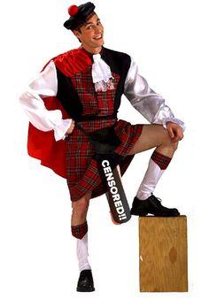 What's Under The Kilt Costume - Funny Fancy Dress - Funny Costumes at Escapade™ UK Funny Fancy Dress, Funny Dresses, Scottish Kilts, Scottish Tartans, Funny Costumes, Adult Costumes, Under The Kilt, Six Nations Rugby, Tartan Kilt