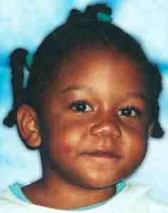 Rilya Wilson. A 4 year old little girl who went missing in the Florida foster system, and has never been found. So cute. So sad. God help our children.