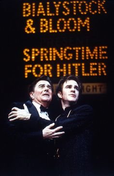Gary Beach and Roger Bart  The Producers - Original Broadway Cast